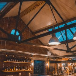 Cutlery Works Sheffield Bar and Roof with Lighting
