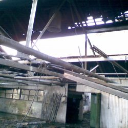 Cutlery Works Sheffield Before Refurbishment Roof Missing