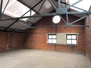 Cutlery Works Sheffield Empty Space Roof Light
