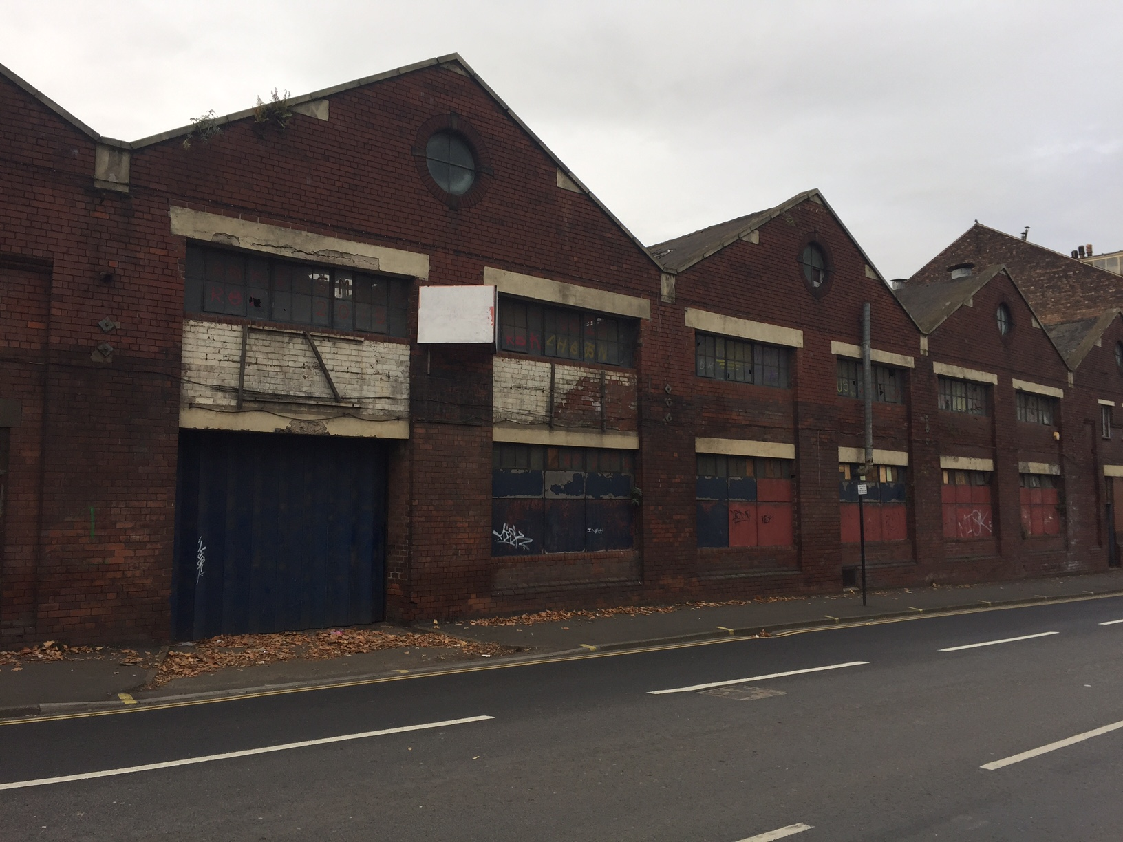 Cutlery Works Sheffield Before Refurbishment Exterior Shot
