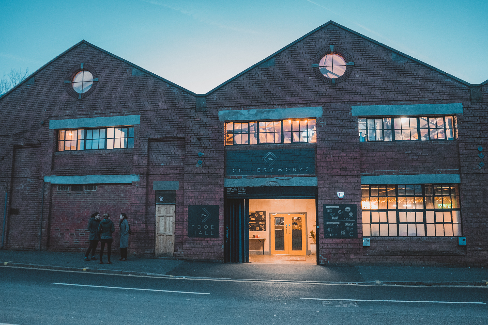 Cutlery Works Food Hall Sheffield