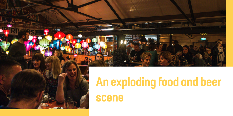An Exploding Food and Beer Scene
