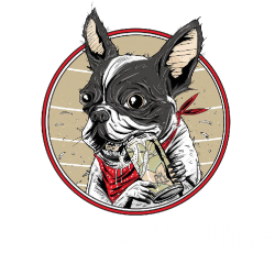 white boozehound sheffield logo cutlery works