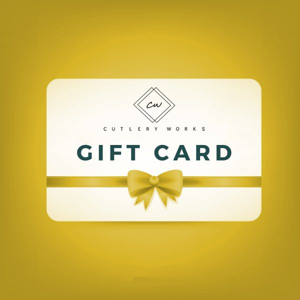 yellow cutlery works gift voucher icon