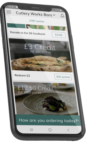 the milestone group app on a smartphone